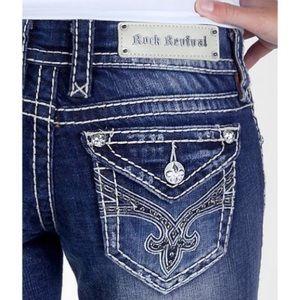 Rock Revival Jamie Easy Boot Jeans 28